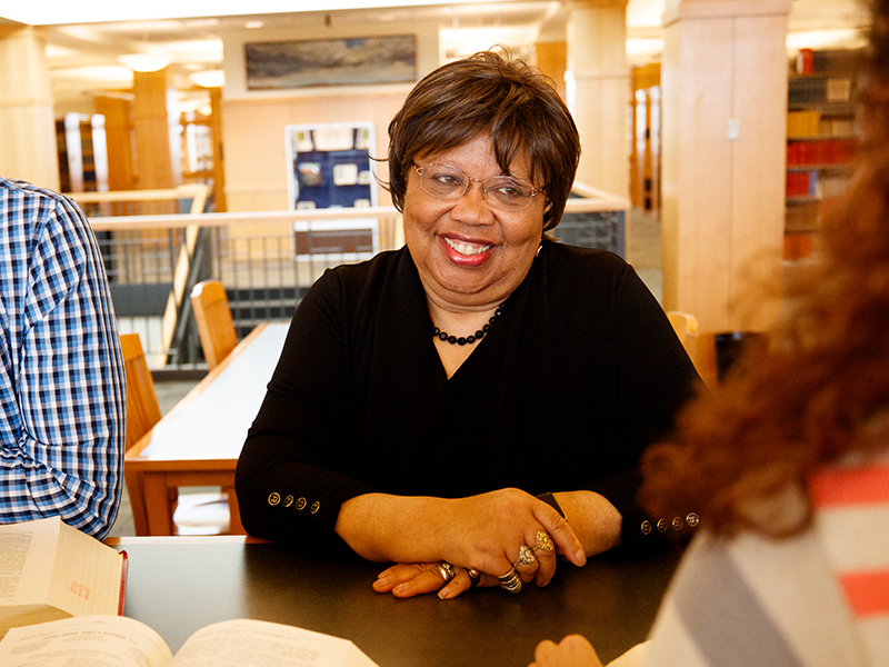 Acting Dean Anna Shavers
