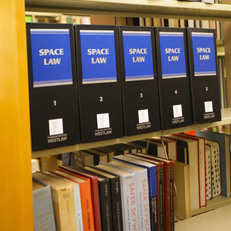 Extensive International, Comparative and Foreign Law Library Collection photo