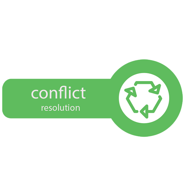 Resolving Conflict icon