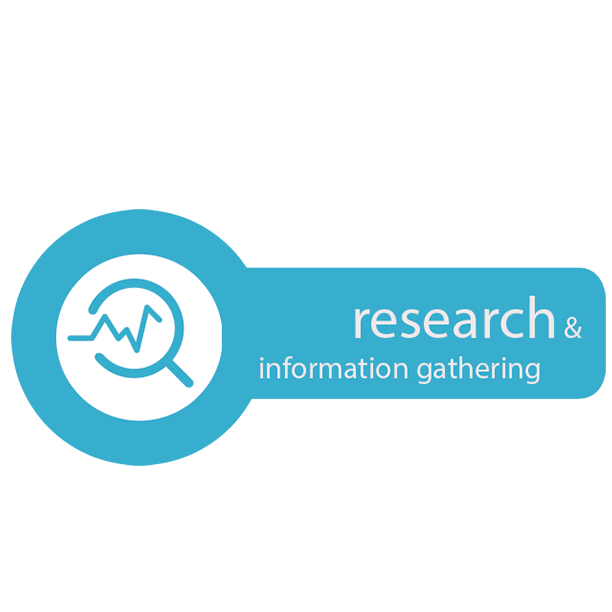Research & Information Gathering icon