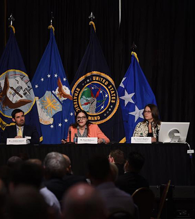 Magilton Moderates Panel at USSTRATCOM Deterrence Symposium