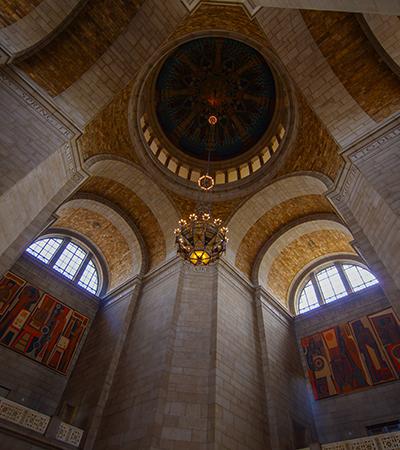 ceiling inside the Nebraska State Capitol Building