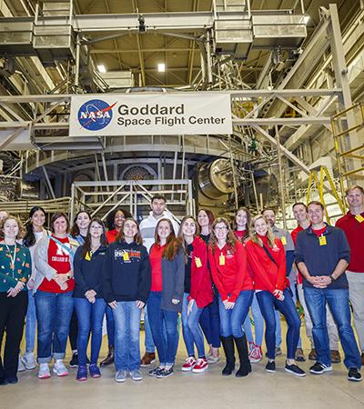 Students at NASA