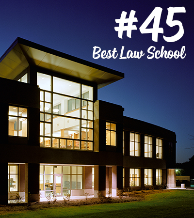 #45 Best Law School