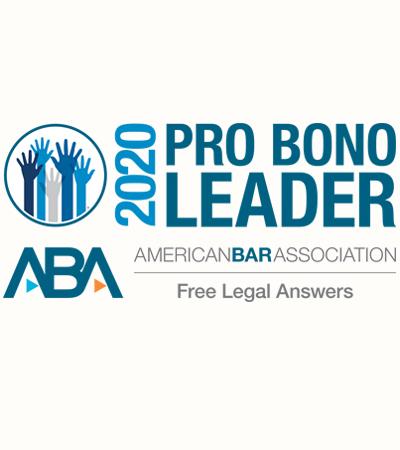 ABA Pro Bono Leader Icon