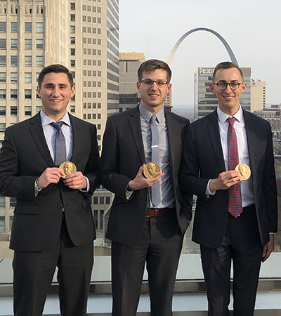 Henderson, Klein and Page Advance to National Moot Court Competition Finals