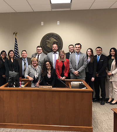 Immigration Clinic Students Visit Omaha Immigration Court