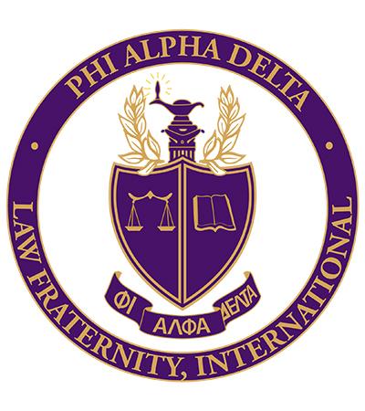 Phi Alpha Delta seal logo