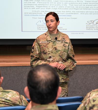 U.S. Army Brig. Gen. Susan Arnold