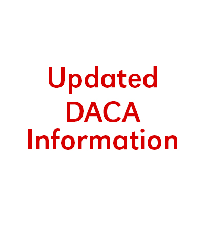 Updated DACA Information