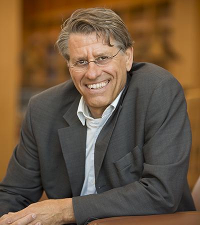 headshot of professor Frans von der Dunk