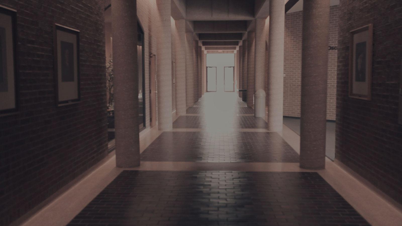 Hallway at the Nebraska College of Law