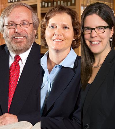 Professors Duncan, Medill and Shoemaker