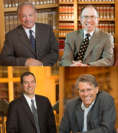 Professors Beard, Lepard, Schaefer and von der Dunk