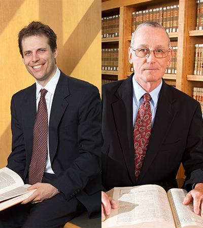 Professors Eric Berger and Bob Works