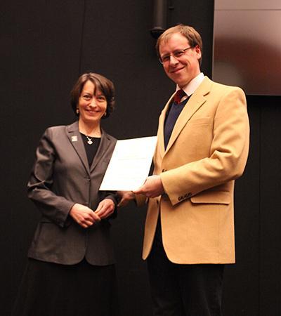 Brian Fahey Receives Sorensen Award