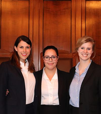 Atwood, Hertz and Nelson Advance to National Moot Court Competition Finals