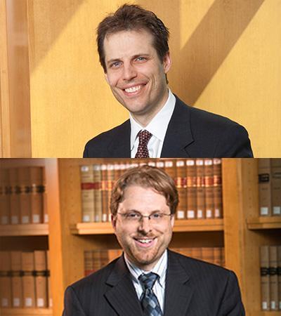 Professors Eric Berger and Gus Hurwitz