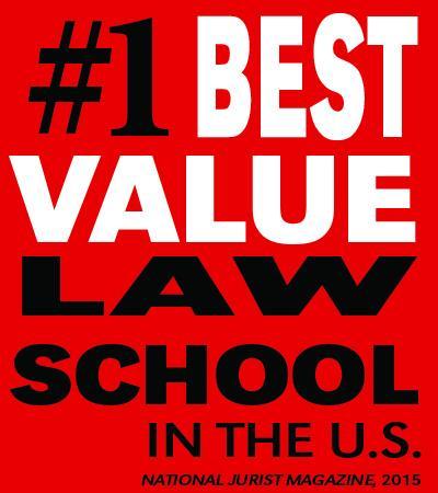#1 Best Value Law School