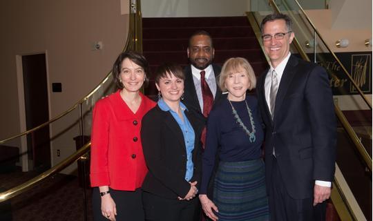 2014 Alumni Council Awards winners