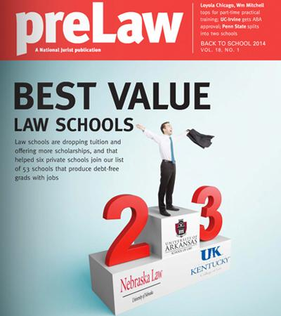 preLaw Best Value Cover