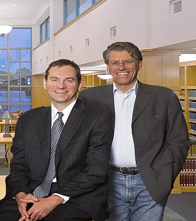 Professor Matthew Schaefer and Professor Frans von der Dunk
