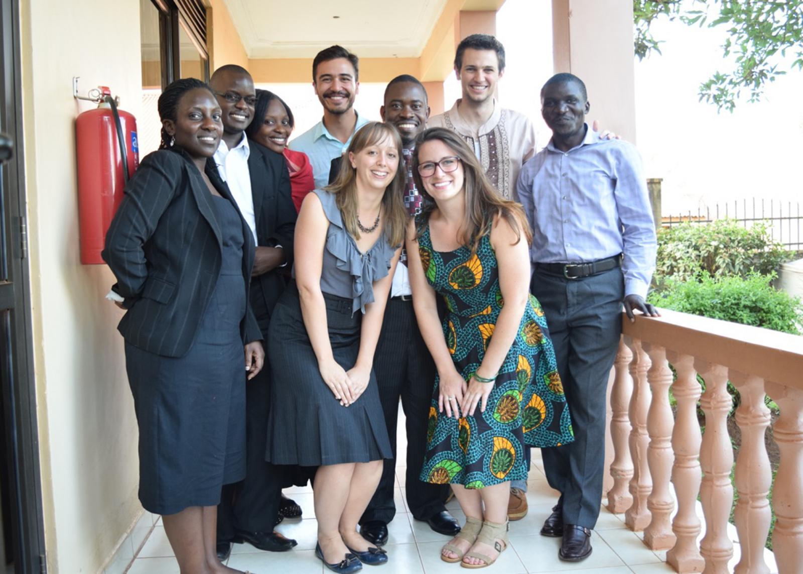 Braden in Uganda